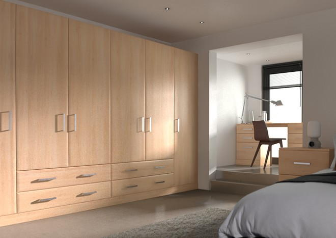Durrington Beech Bedroom Doors