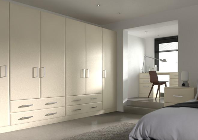 Durrington Mussel Bedroom Doors