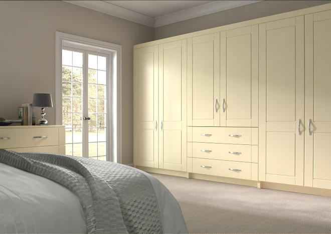 Fairlight Cream Bedroom Doors