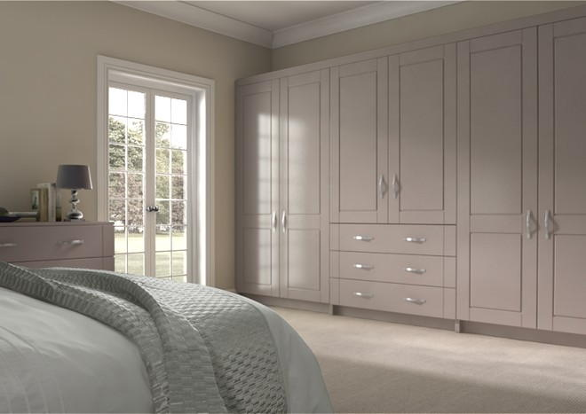 Fairlight Legno Stone Grey Bedroom Doors