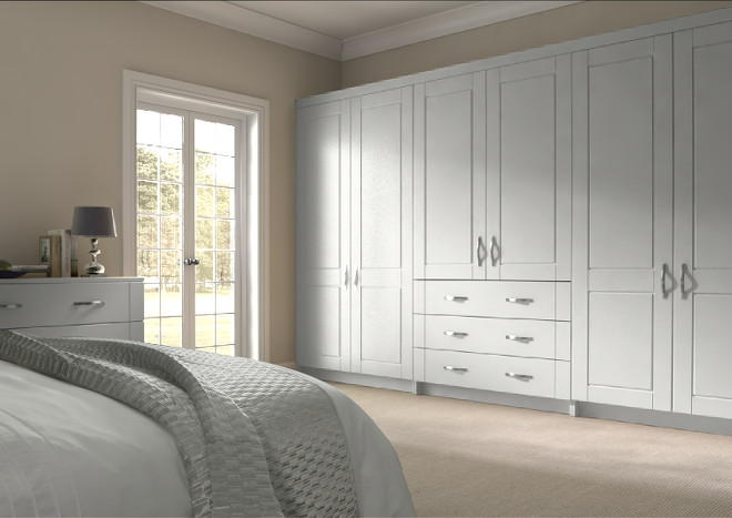 Fairlight Light Grey Bedroom Doors