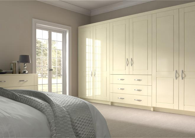 Fairlight Modern Ivory Bedroom Doors