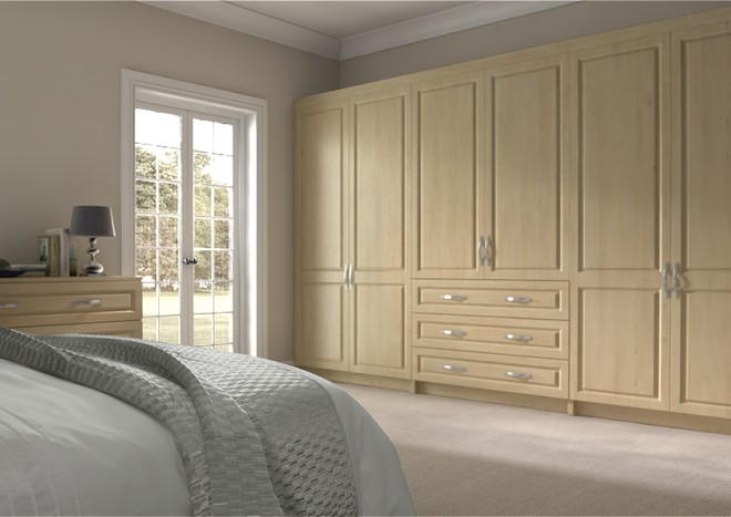 Fontwell Odessa Oak Bedroom Doors
