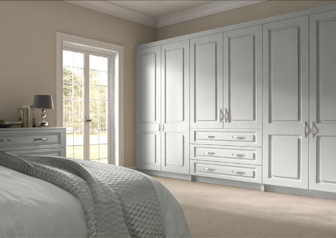 Goodwood Light Grey Bedroom Doors