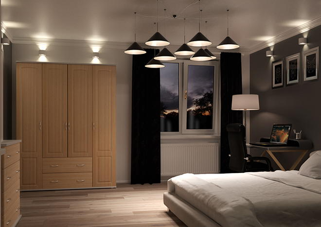 Hartfield Beech Bedroom Doors