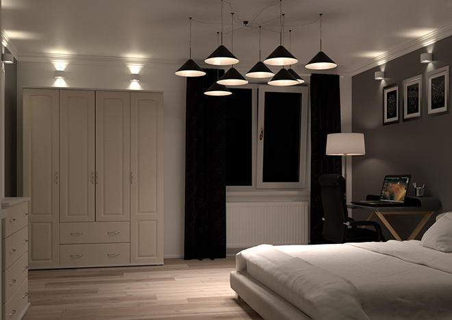 Hartfield Legno Dakar Bedroom Doors