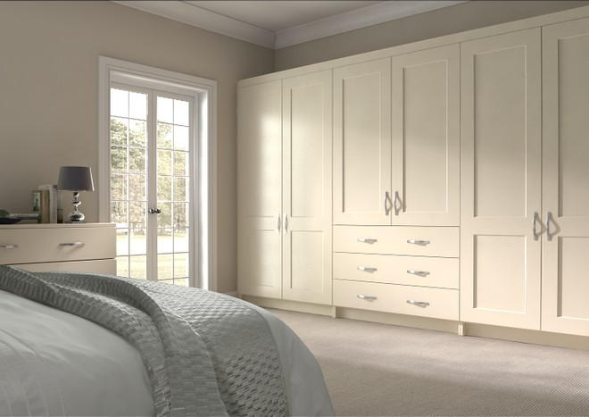 Kingston Beige Bedroom Doors