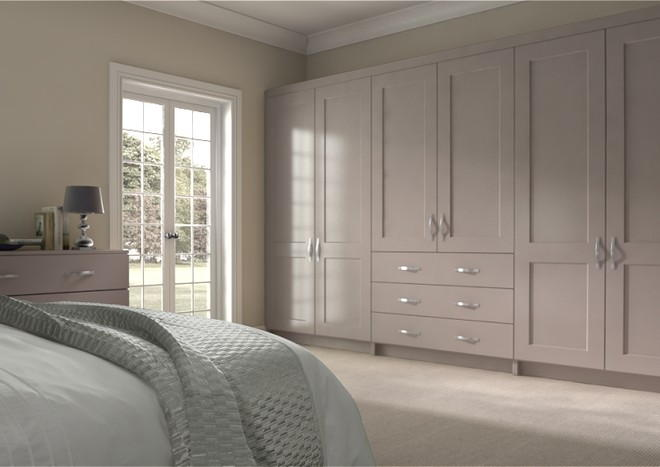 Kingston Legno Stone Grey Bedroom Doors