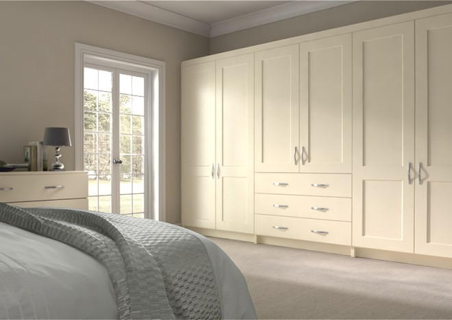 Kingston Mussel Bedroom Doors