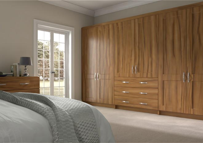 Kingston Tiepolo Light Walnut Bedroom Doors