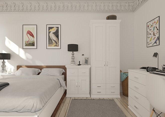 Kingston TrueMatt Porcelain Bedroom Doors