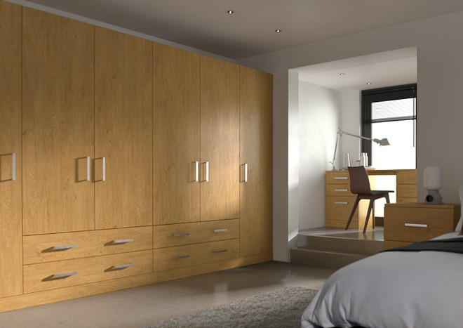 Lewes Pippy Oak Bedroom Doors
