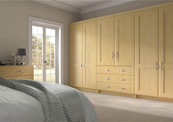 Mayfield Montana Oak Bedroom Doors