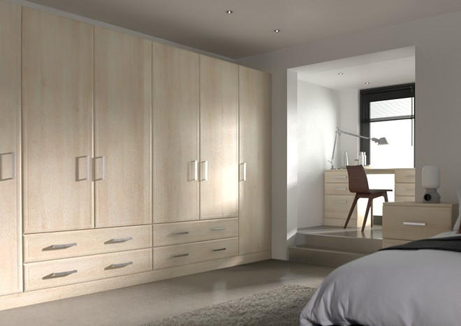 Newick Acacia Bedroom Doors