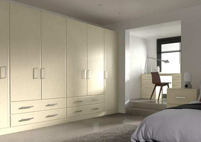 Newick Cream Ash Bedroom Doors
