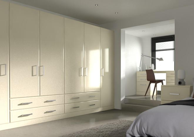 Newick Modern Ivory Bedroom Doors