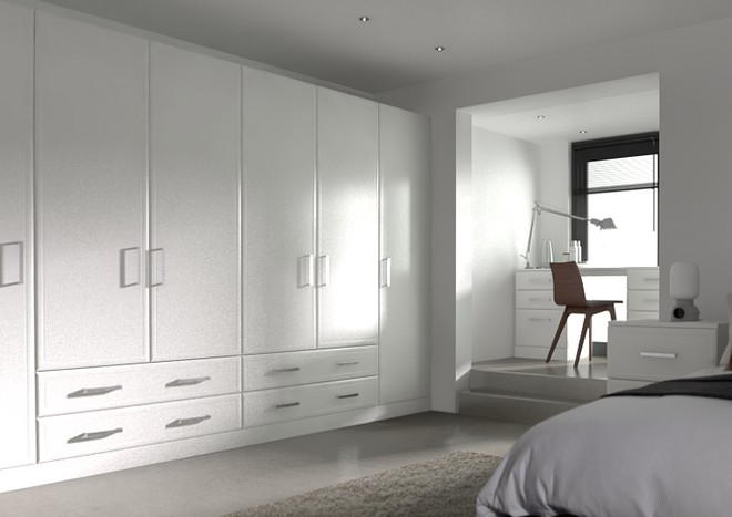 Newick Paintable Vinyl Bedroom Doors
