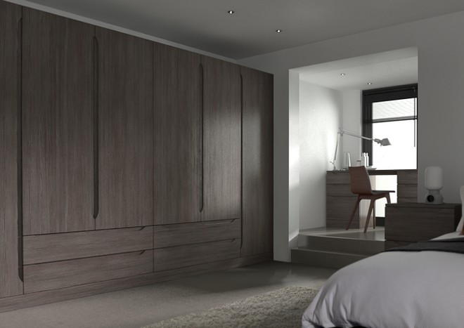 Petworth Avola Grey Bedroom Doors