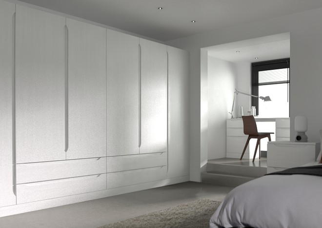 Petworth Avola White Bedroom Doors