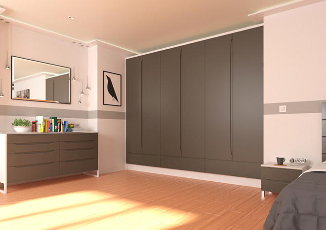 Petworth Graphite Bedroom Doors