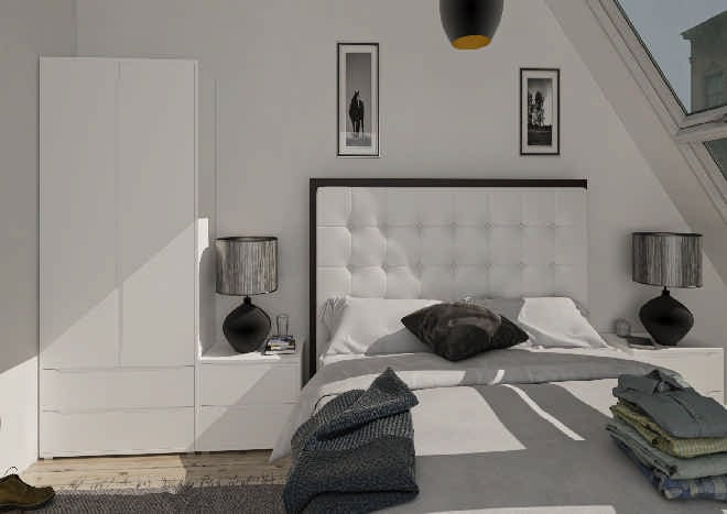 Petworth Porcelain White Bedroom Doors