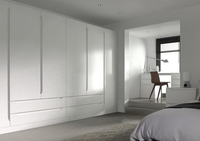 Petworth Silk White Bedroom Doors