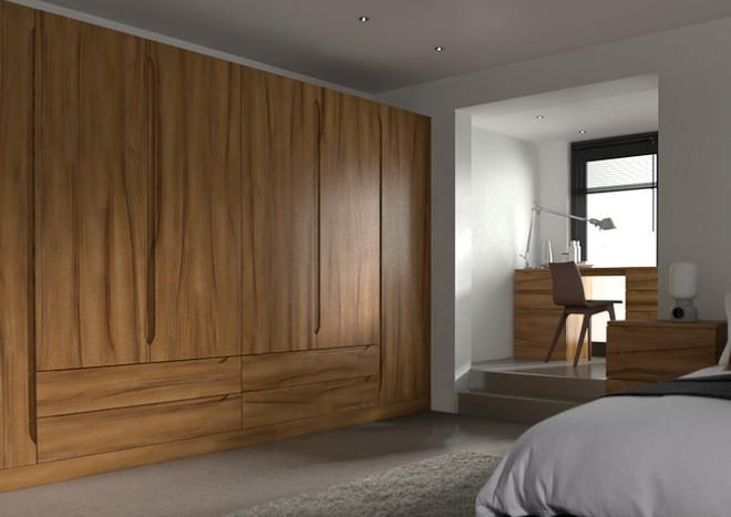 Petworth Tiepolo Light Walnut Bedroom Doors