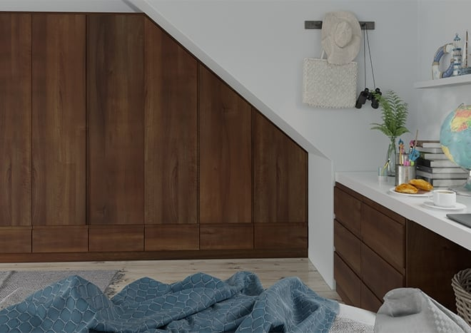 Ringmer Dark Walnut Bedroom Doors