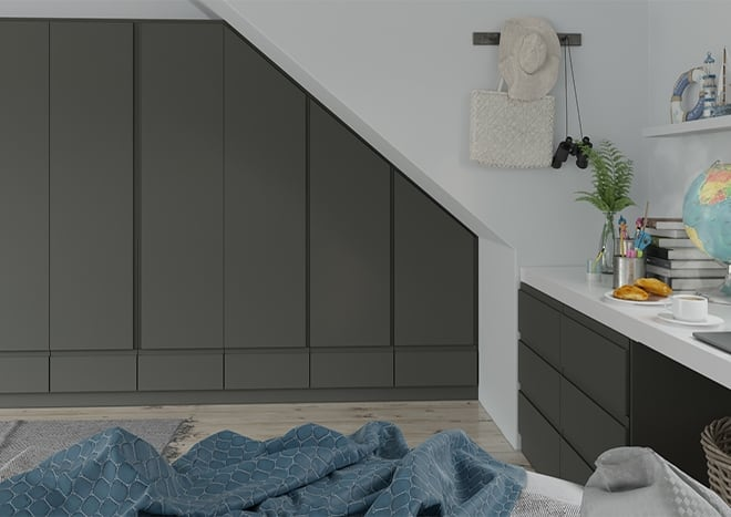 Ringmer Graphite Bedroom Doors