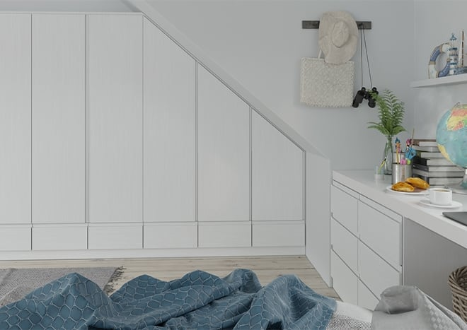 Ringmer Legno Linen Bedroom Doors