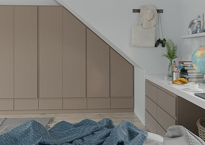 Ringmer Legno Stone Grey Bedroom Doors