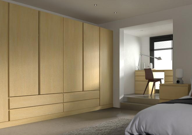Ringmer Montana Oak Bedroom Doors