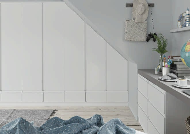 Ringmer Porcelain White Bedroom Doors