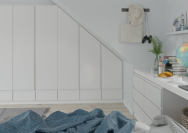 Ringmer TrueMatt Pebble Bedroom Doors