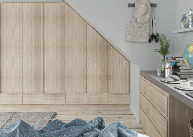 Ringmer Sonoma Oak Bedroom Doors