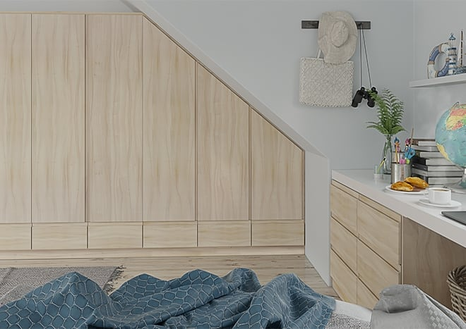 Ringmer Tiepolo Light Walnut Bedroom Doors