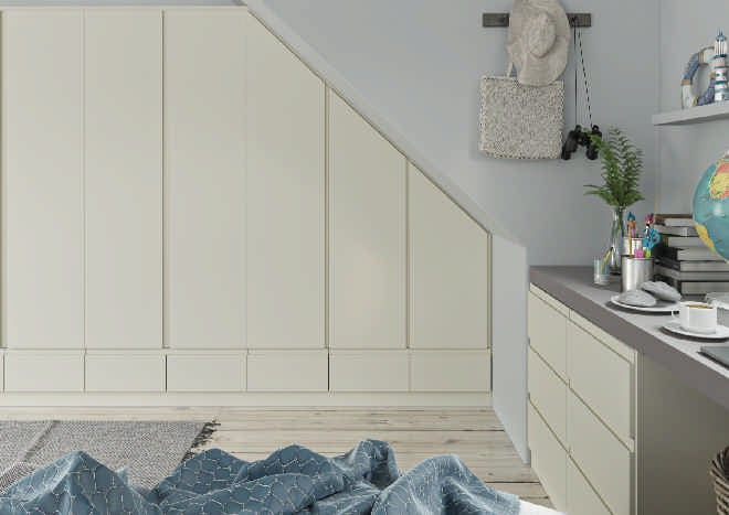 Ringmer TrueMatt Alabaster Bedroom Doors