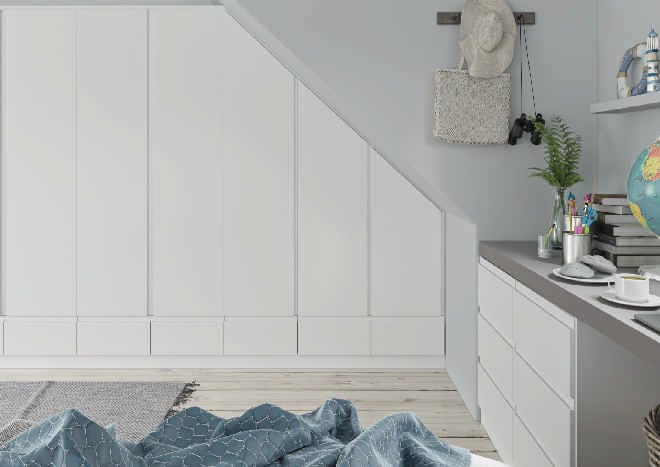 Ringmer TrueMatt Porcelain Bedroom Doors