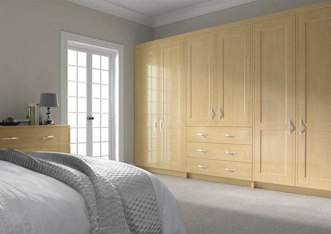 Singleton Montana Oak Bedroom Doors