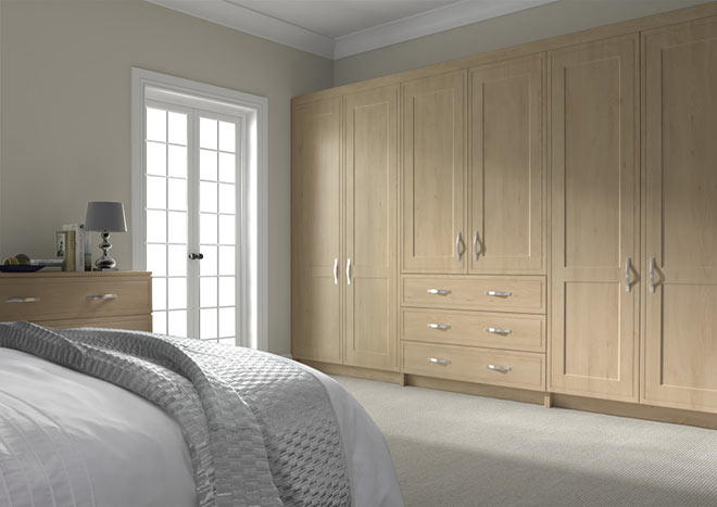 Singleton Odessa Oak Bedroom Doors