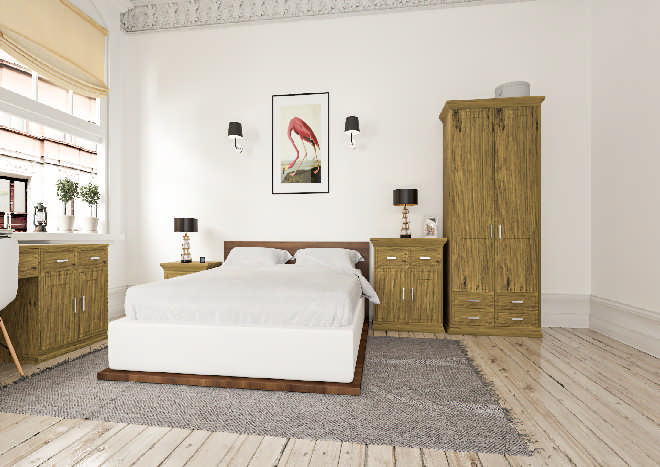 Singleton Pippy Oak Bedroom Doors