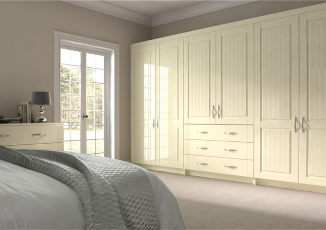 Storrington Modern Ivory Bedroom Doors