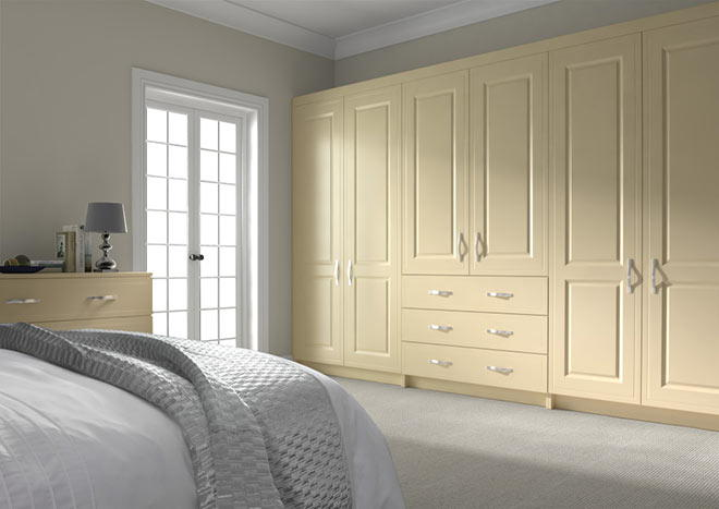 Ticehurst Cream Bedroom Doors