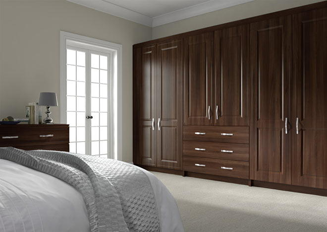 Ticehurst Dark Walnut Bedroom Doors