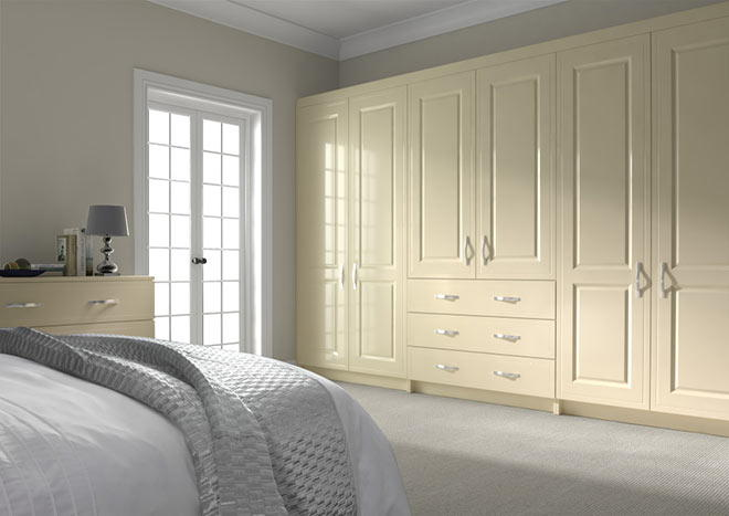 Ticehurst Legno Ivory Bedroom Doors
