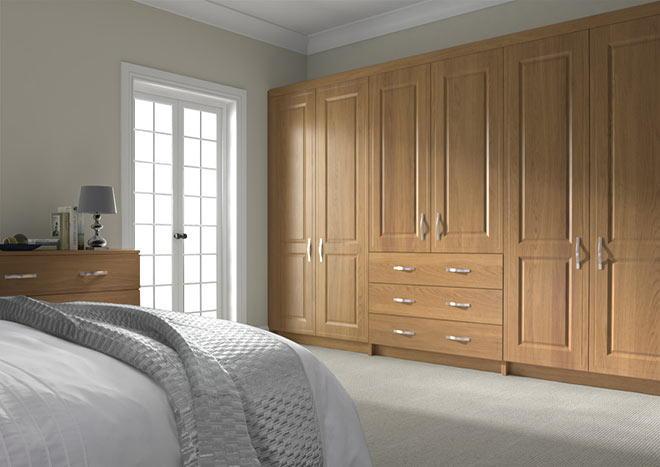 Bedroom Doors - Ticehurst Lissa Oak