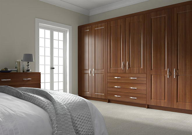 Ticehurst Medium Walnut Bedroom Doors