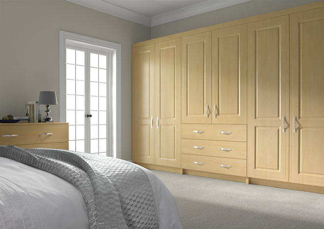 Ticehurst Montana Oak Bedroom Doors