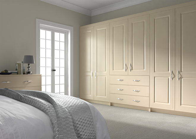 Ticehurst Mussel Bedroom Doors
