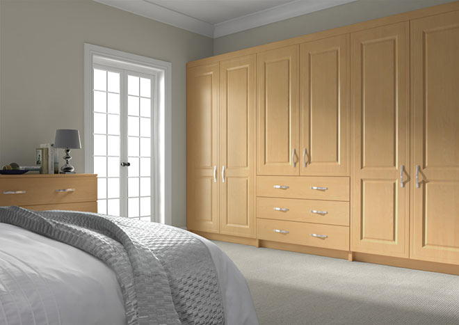 Ticehurst Ontario Maple Bedroom Doors
